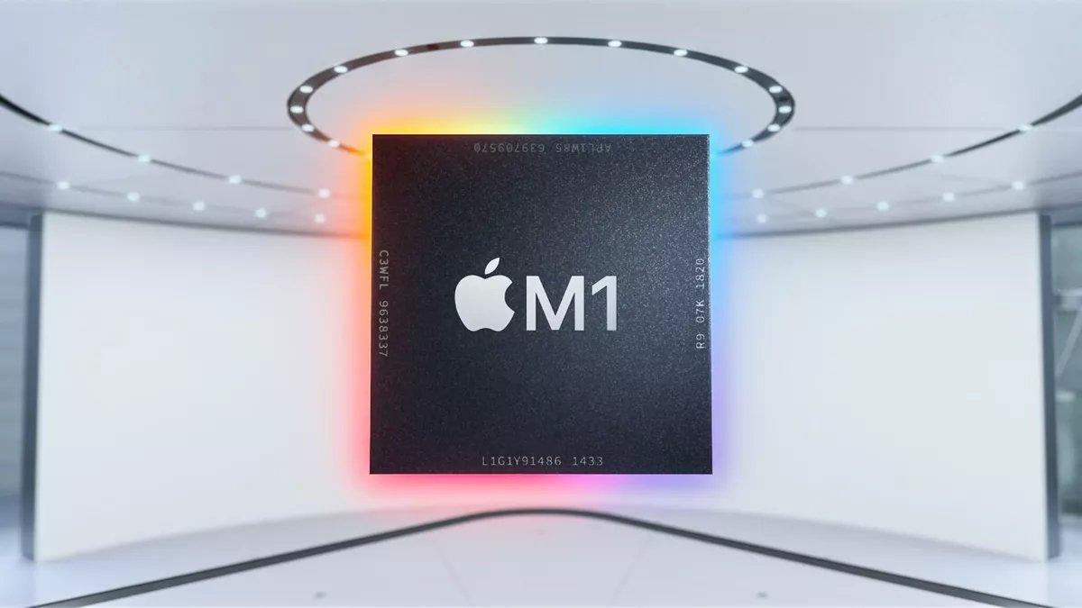 Apple M1 processador