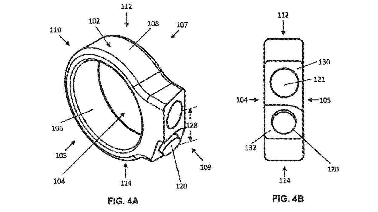google imagem patente anel
