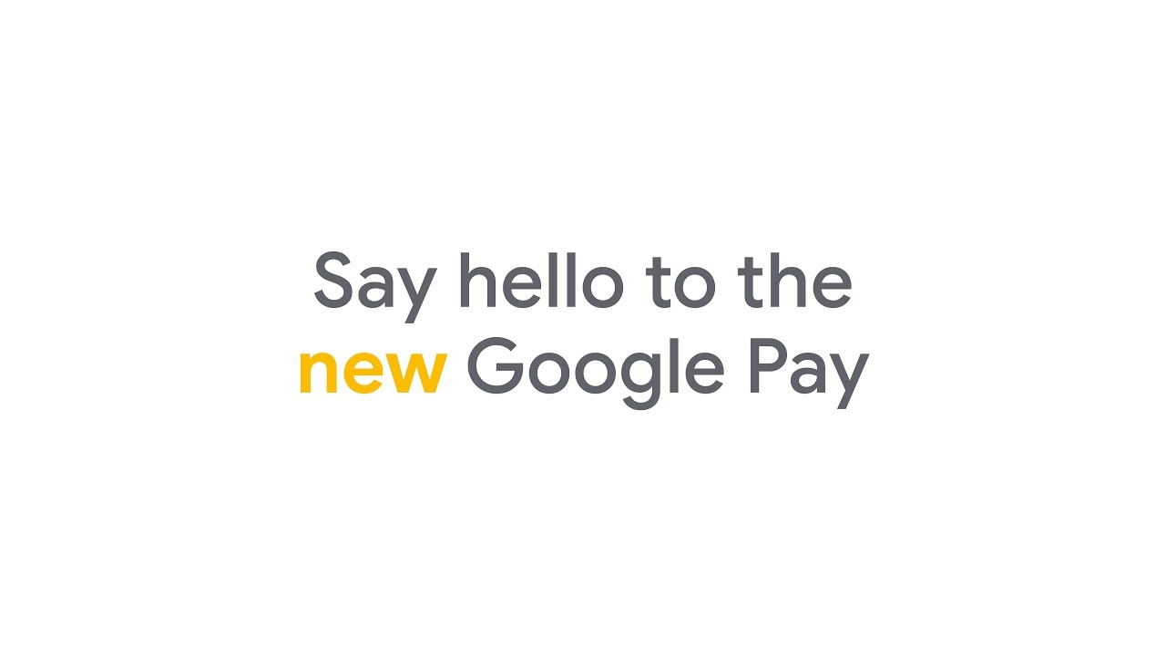 Google pay nova versão