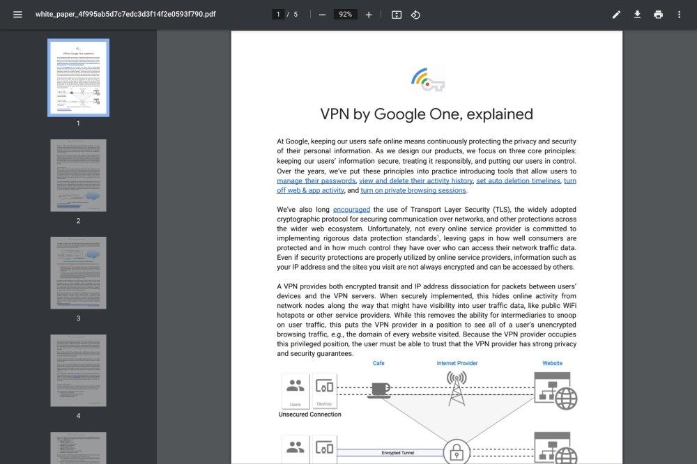 chrome pdf visualizador