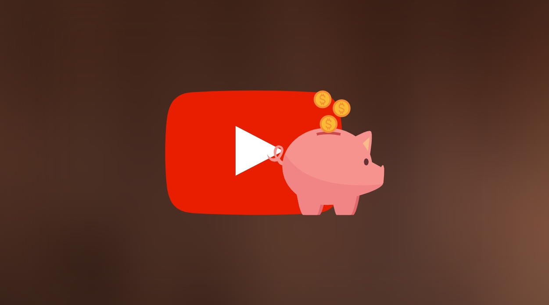 YouTube dinheiro