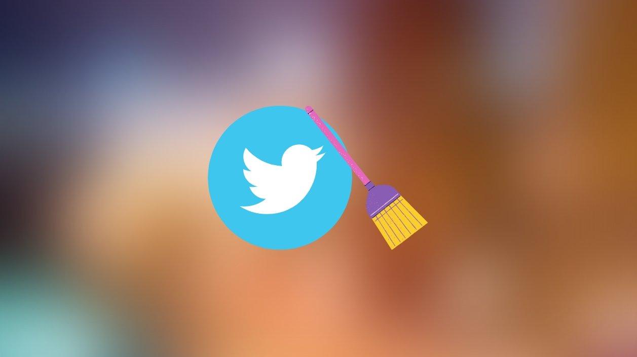 Twitter limpeza