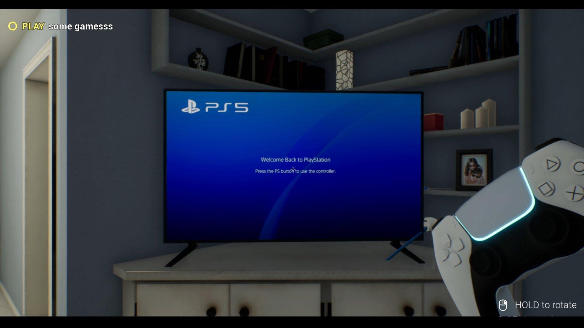 Playstation 5 simulator