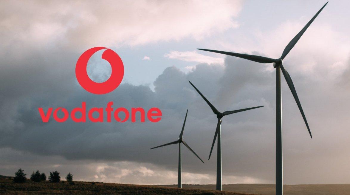 Vodafone energia eólica