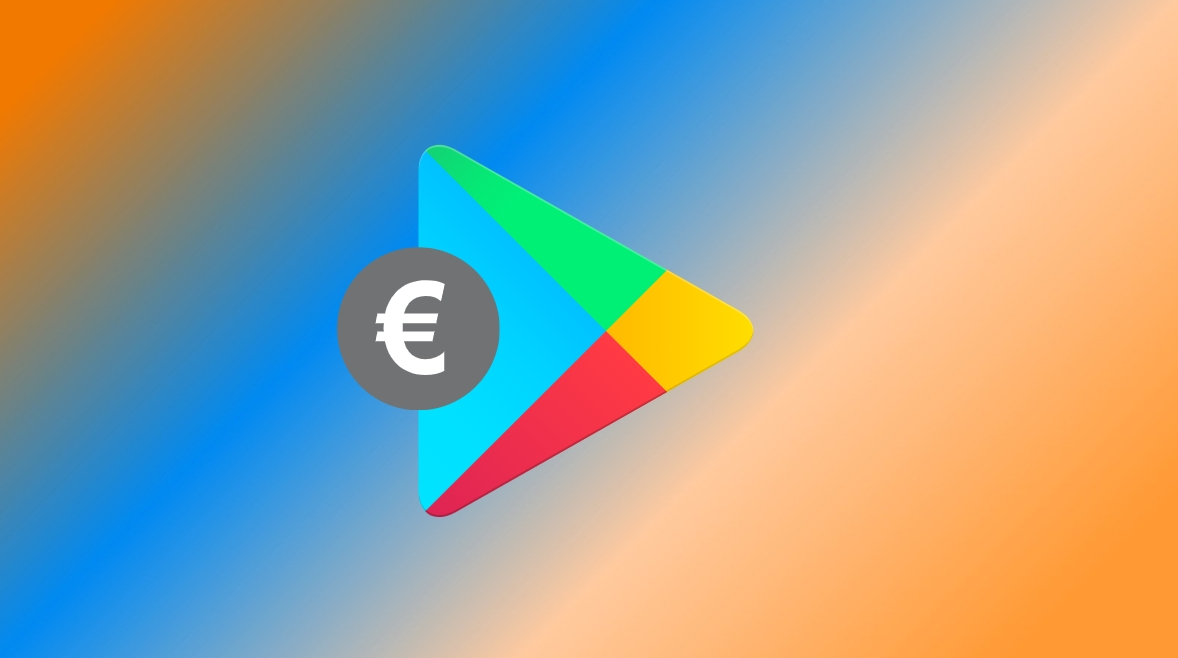 Google play Store euro