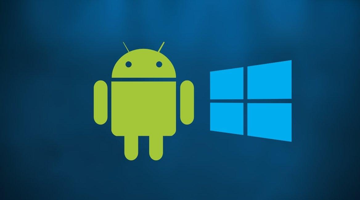 Windows e Android suporte no sistema