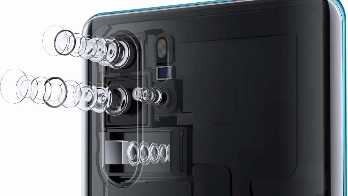 Huawei lentes liquidas smartphones