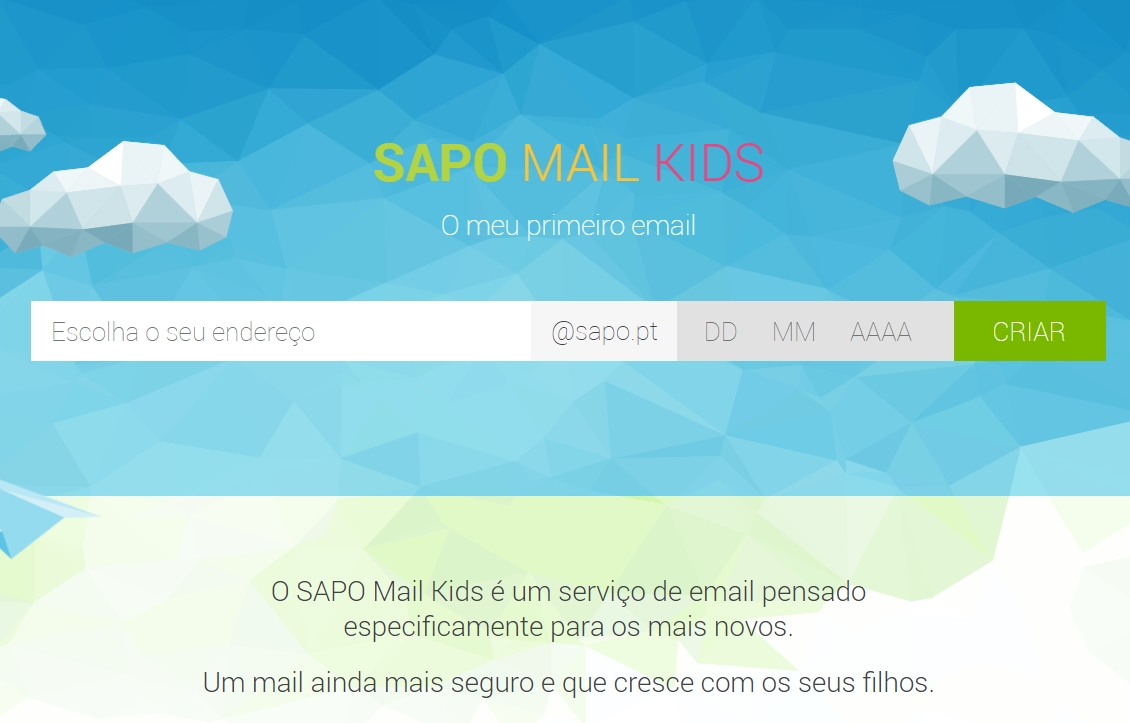 sapo mail kids
