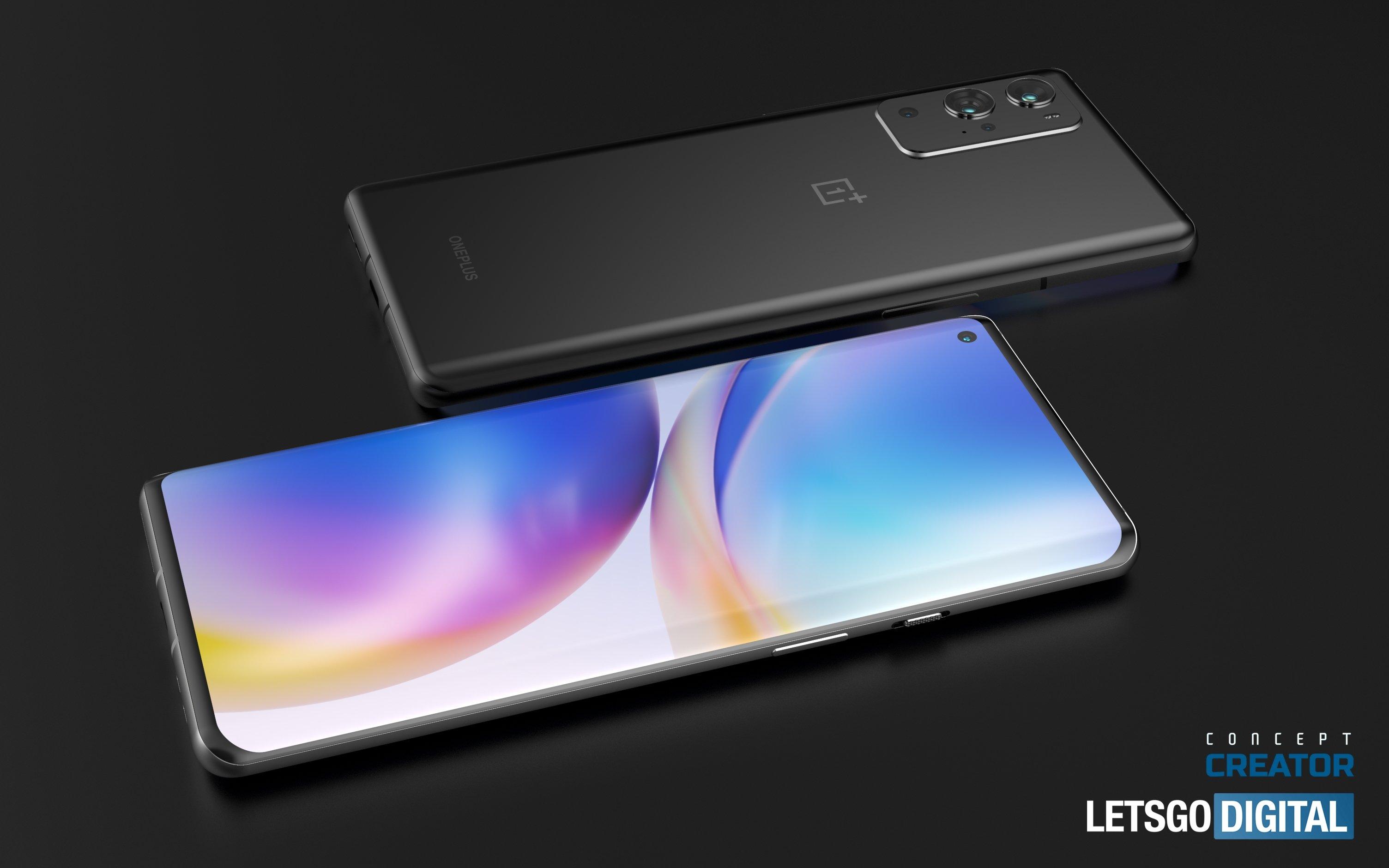 design OnePlus 9 pro