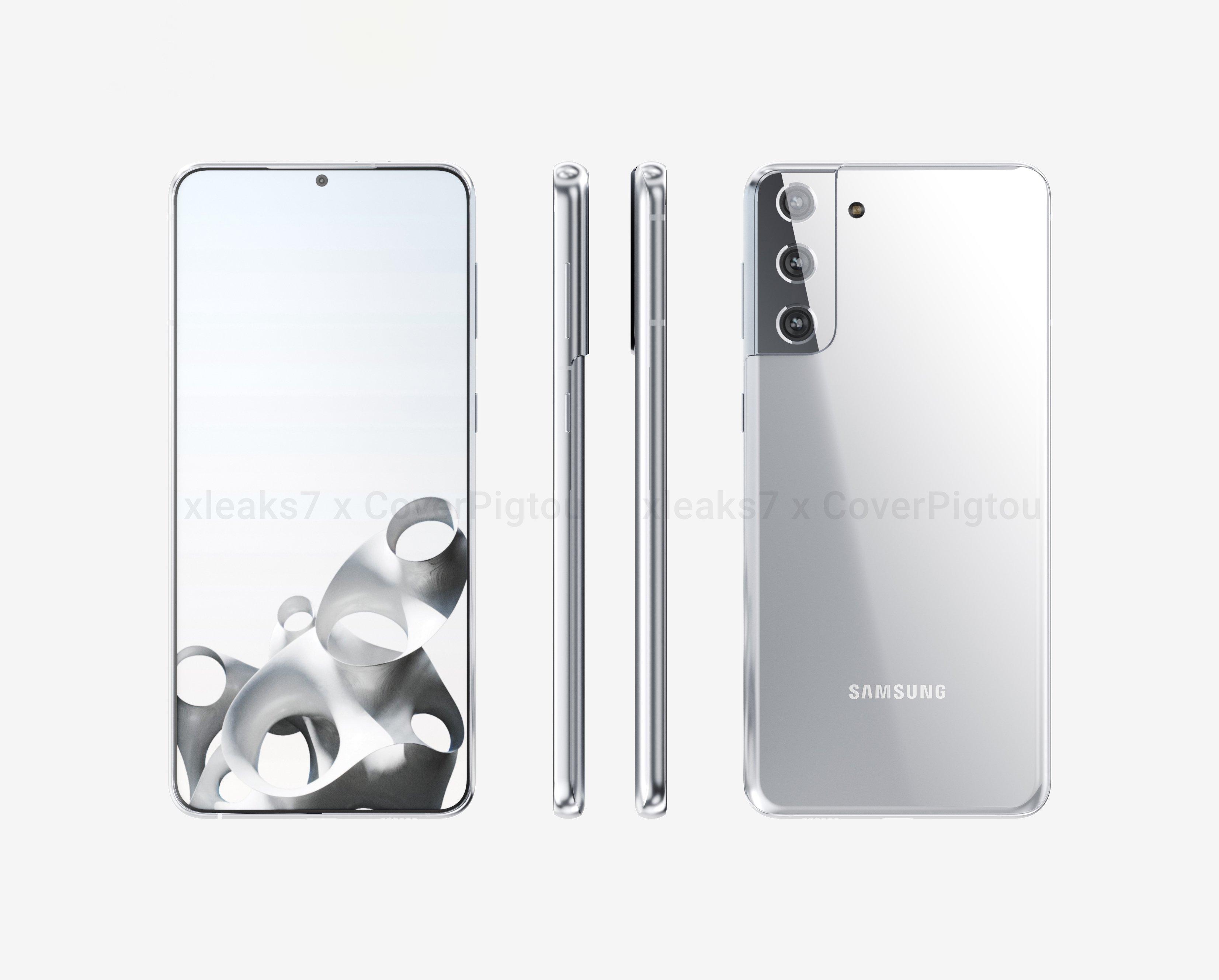Samsung galaxy s21 prateado