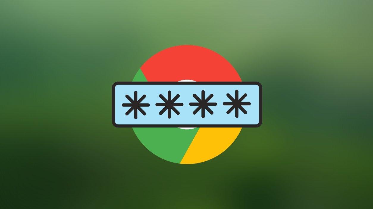Google Chrome alerta de senha