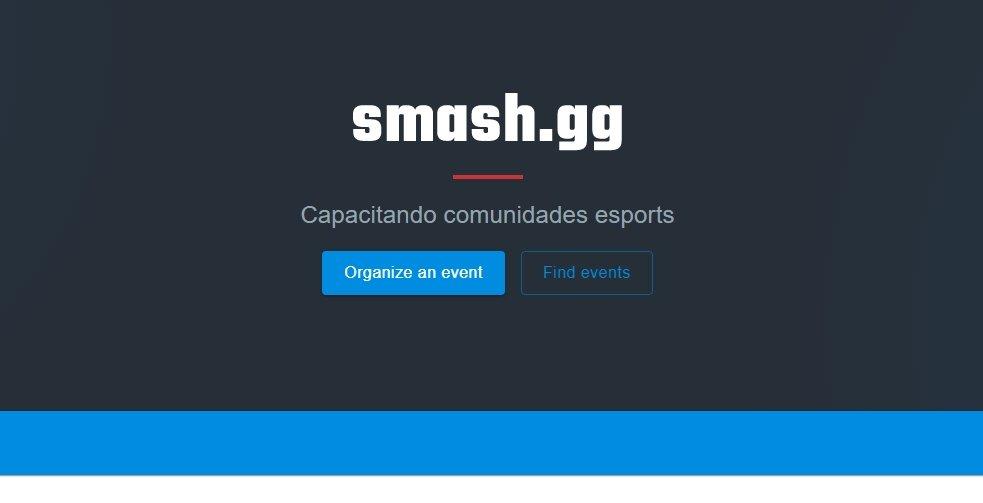 smash gg plataforma