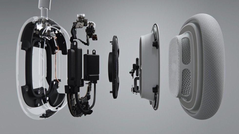 interior dos airpods max