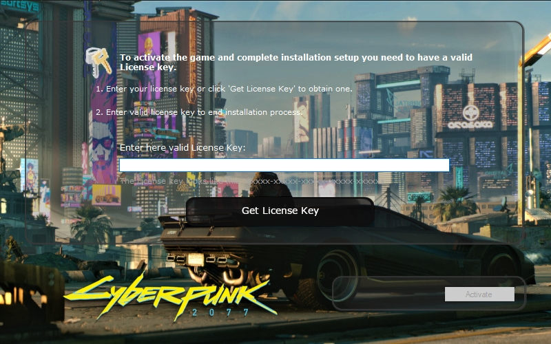 copia falsa de cyberpunk 2077