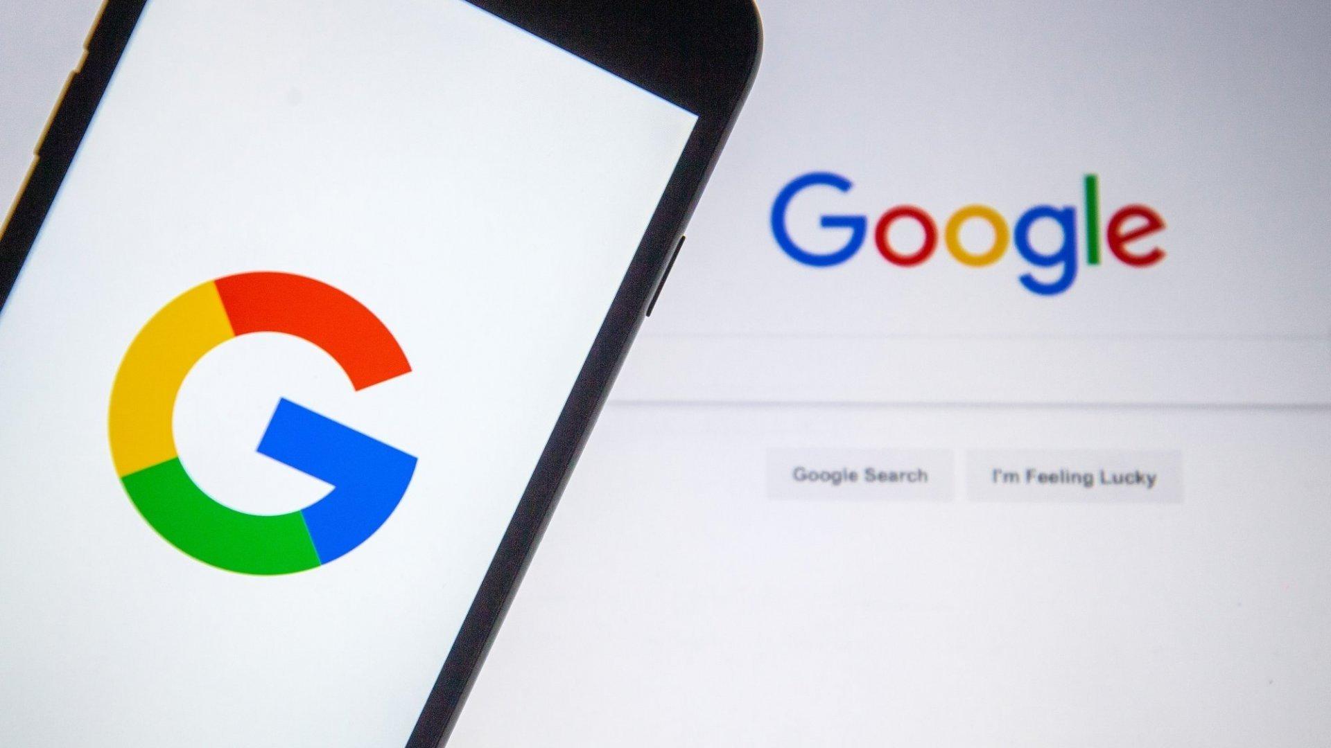 Google pesquisa empresa