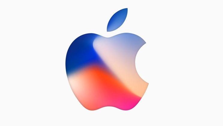 Apple logo colorido
