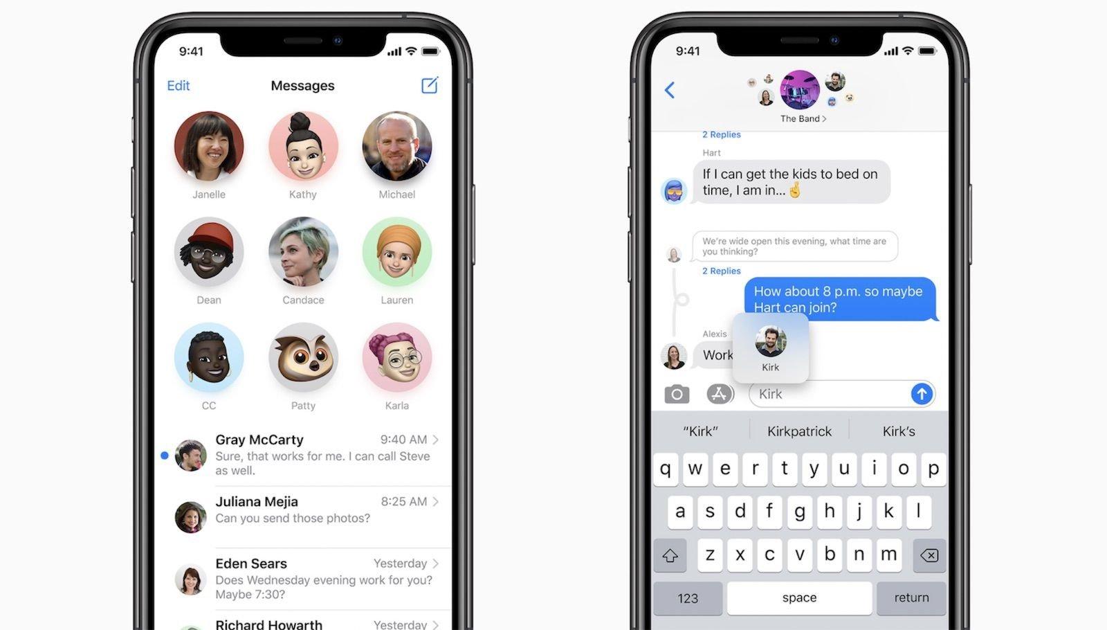 Mensagens no iOS