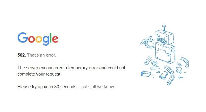erro google login gmail