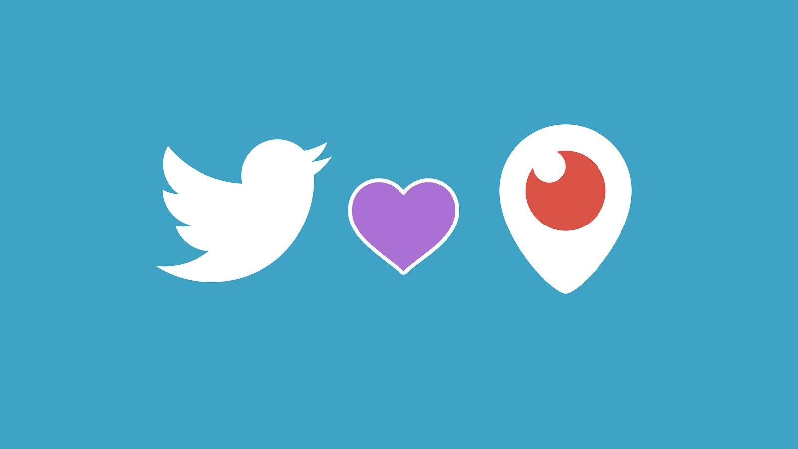 Twitter e periscope