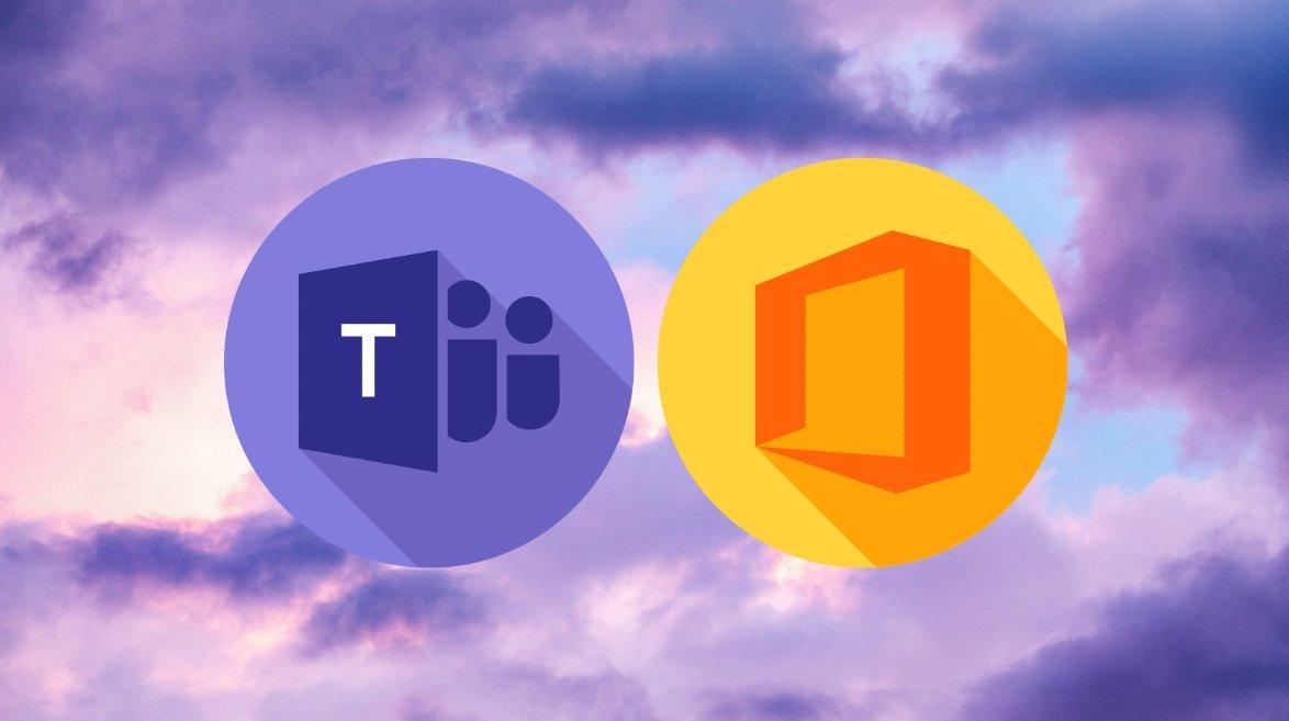 Microsoft office e teams