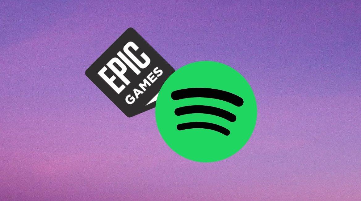 Spotify e Epic Games Store