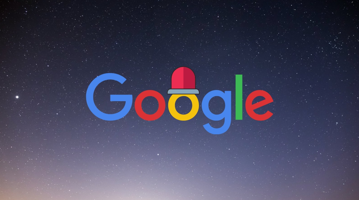 Google falha serviços