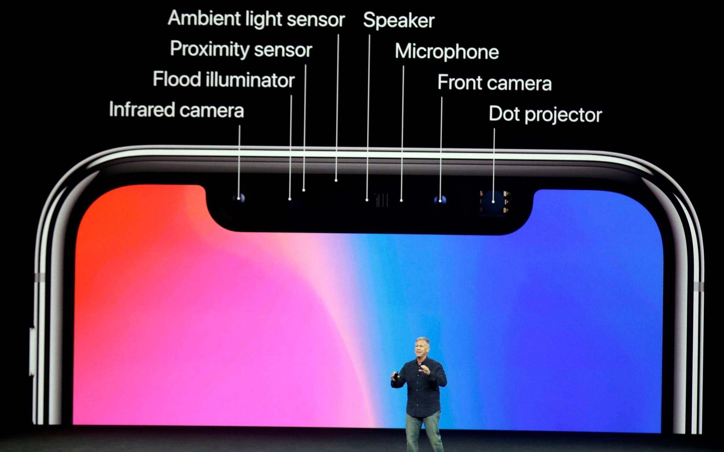 iPhone notch caractristicas