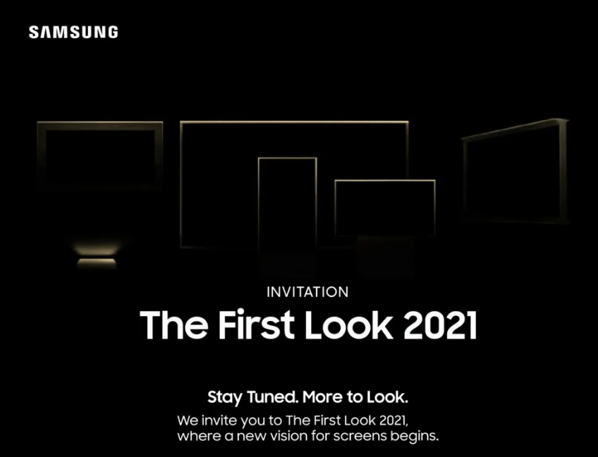 samsung convite evento first look