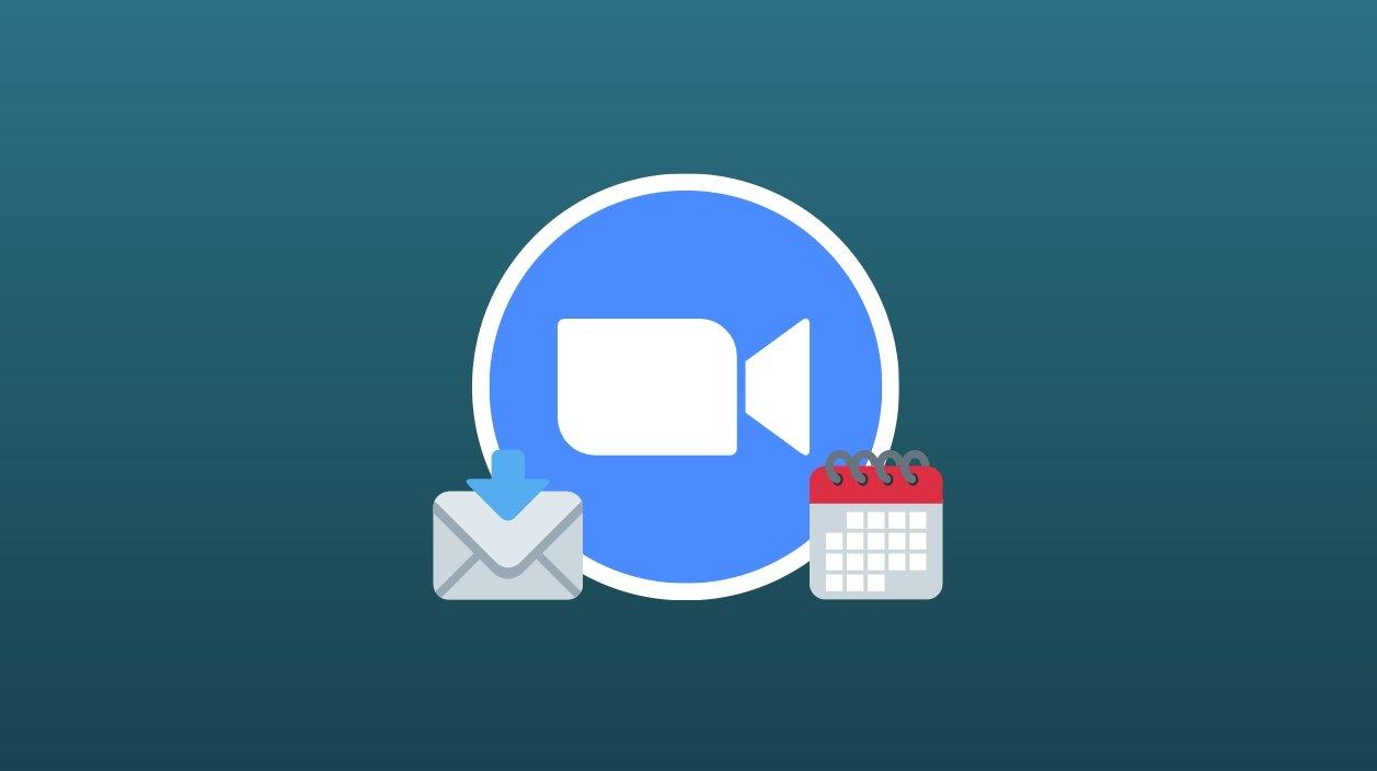 Zooom email e calendário