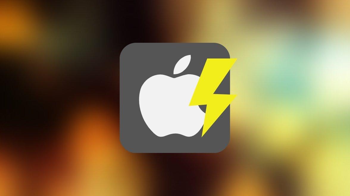 Apple raio com problemas