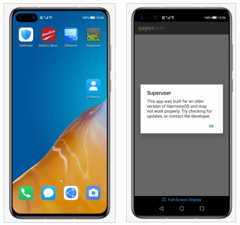 superuser Android e harmonyos