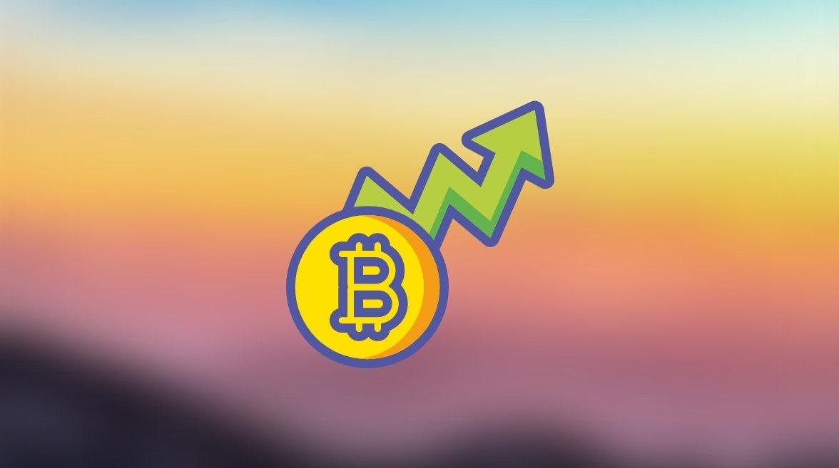 Bitcoin em crescimento