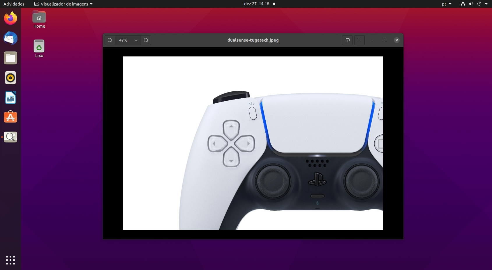 Sony dualsense no Linux