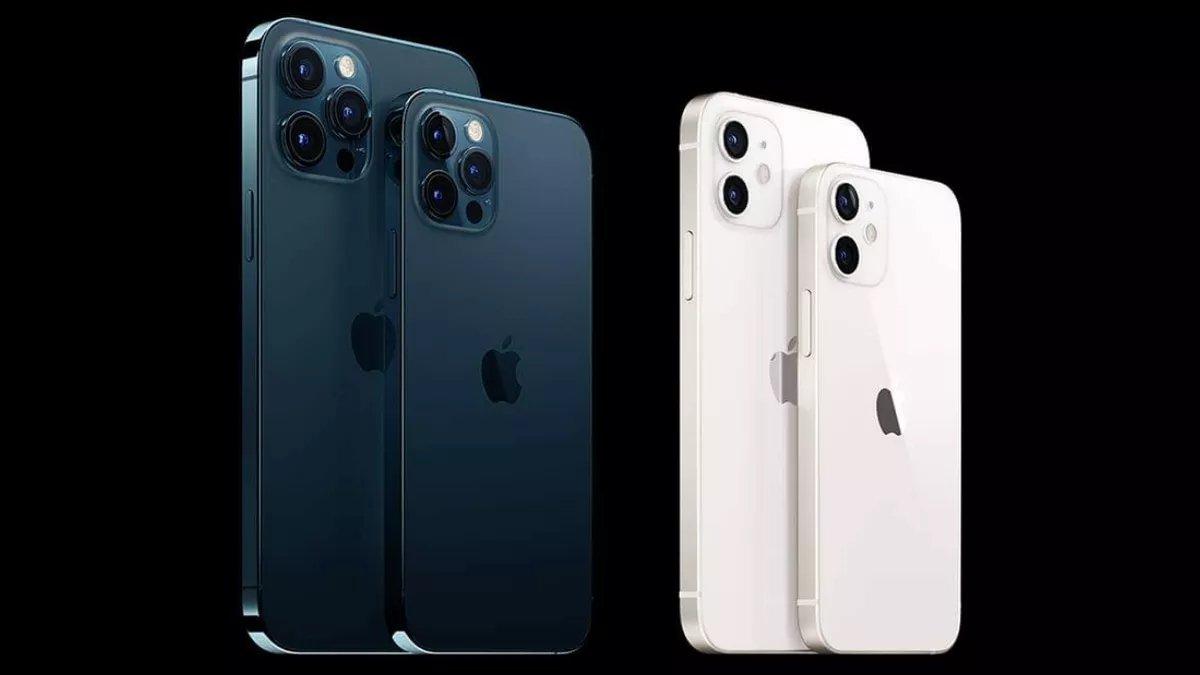 iPhone 12 no mercado