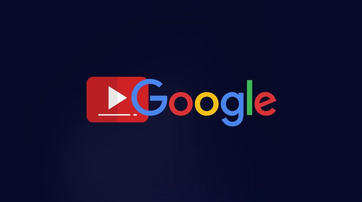 Google pesquisa e vídeos