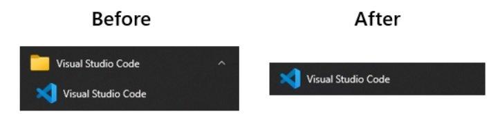 novo sistema inteligente do menu inicial no windows 10