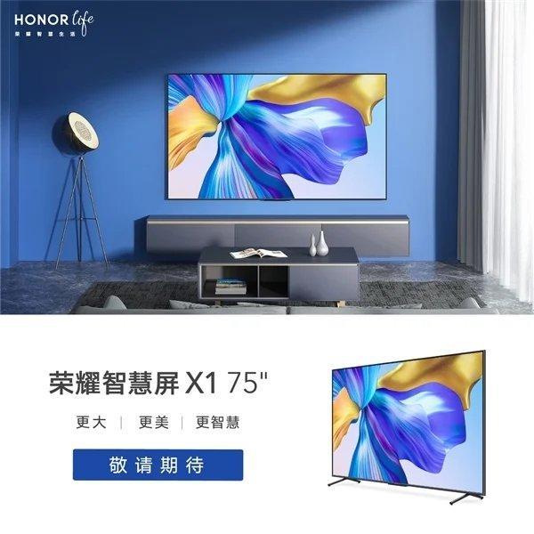 anúncio de smart tv da honor