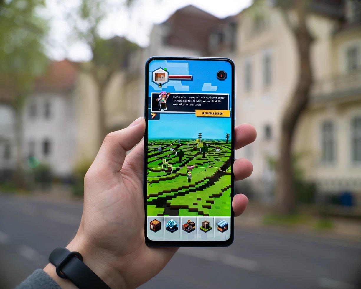 ecrã smartphone com jogo