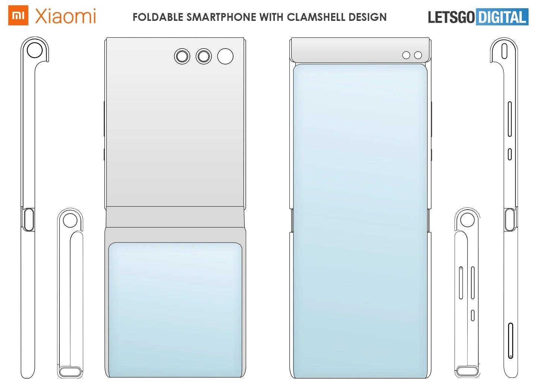 xiaomi patente 2 smartphone dobrável