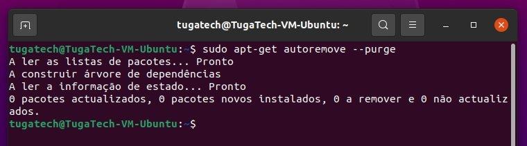limpar pacotes kernel sistema Ubuntu