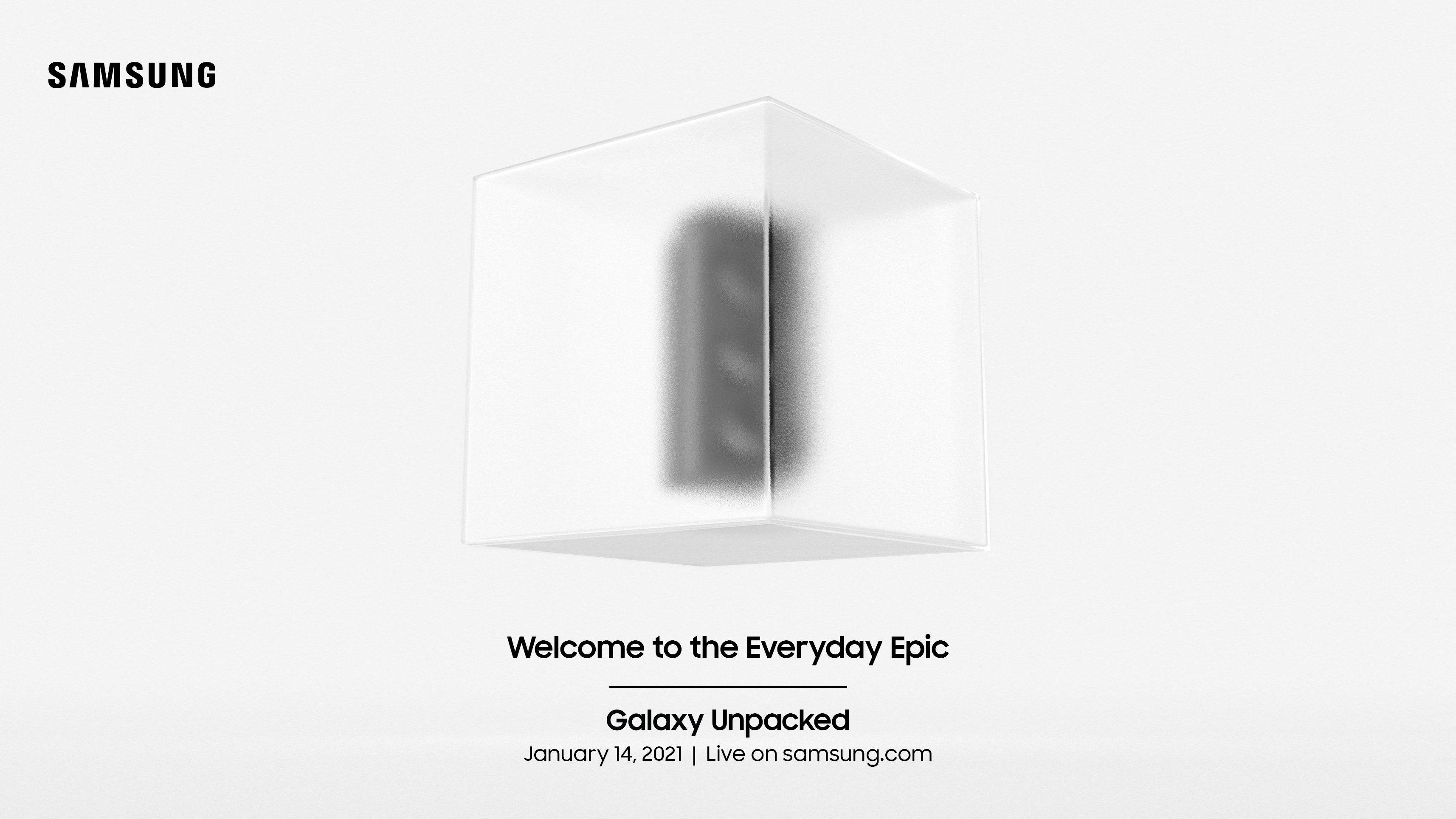 Convite da Samsung unpacked