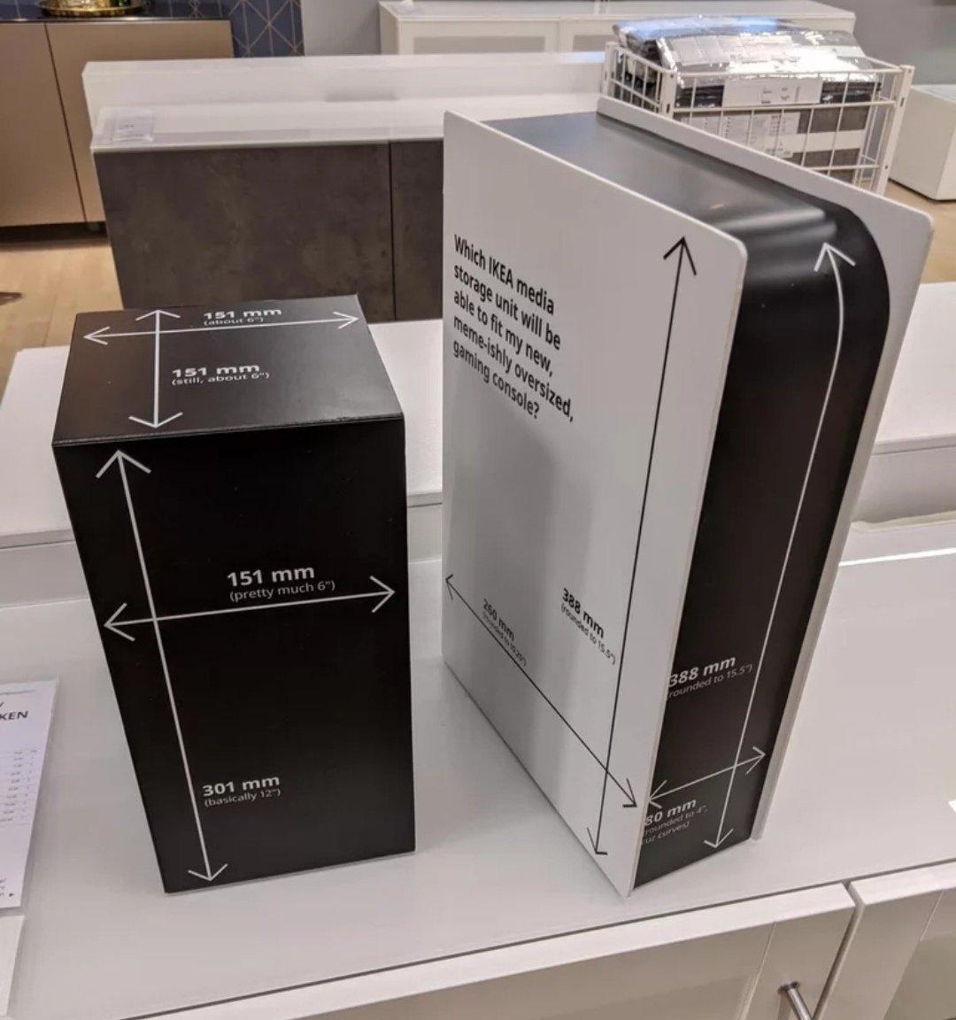 modelos das consolas na IKEA