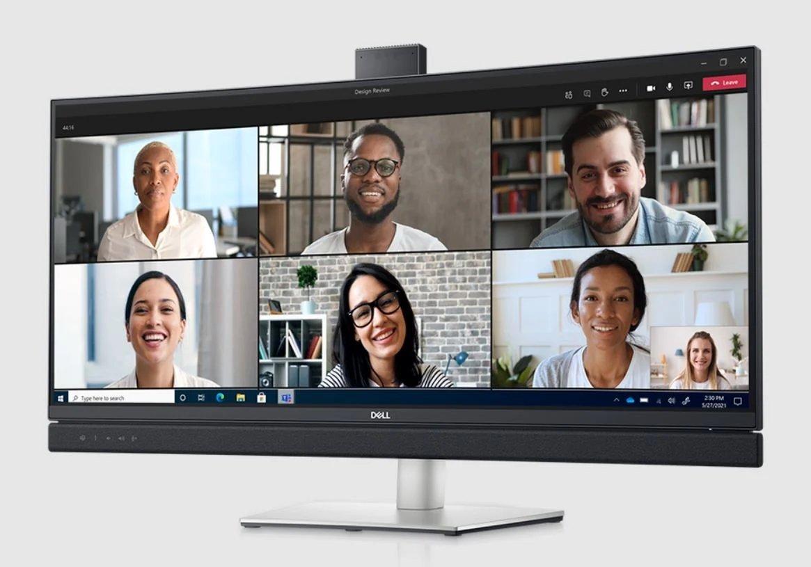 Dell monitor Microsoft teams