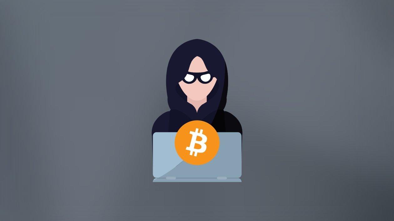 hacker com criptomoeda