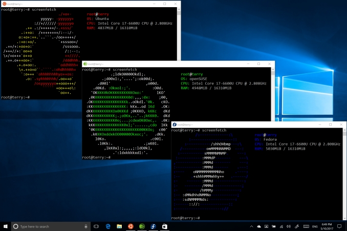 Windows 10 WSL