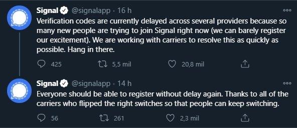 problemas signal