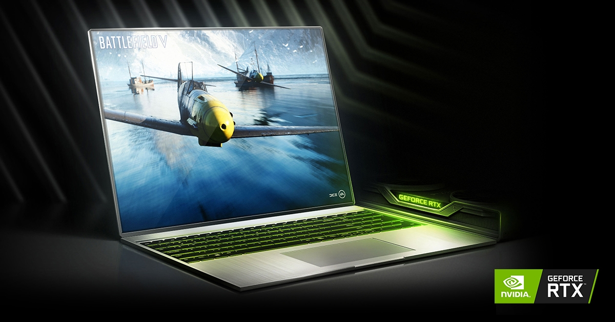 Nvidia RTX portátil