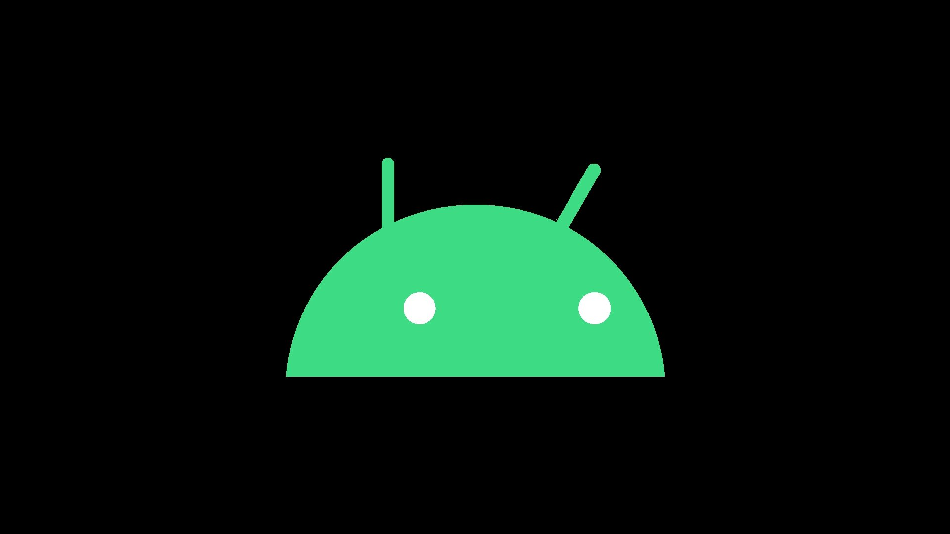 Android robot verde