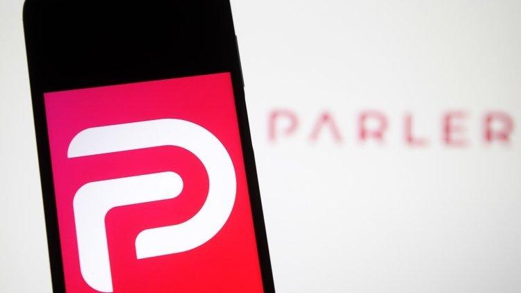 Parler app smartphone