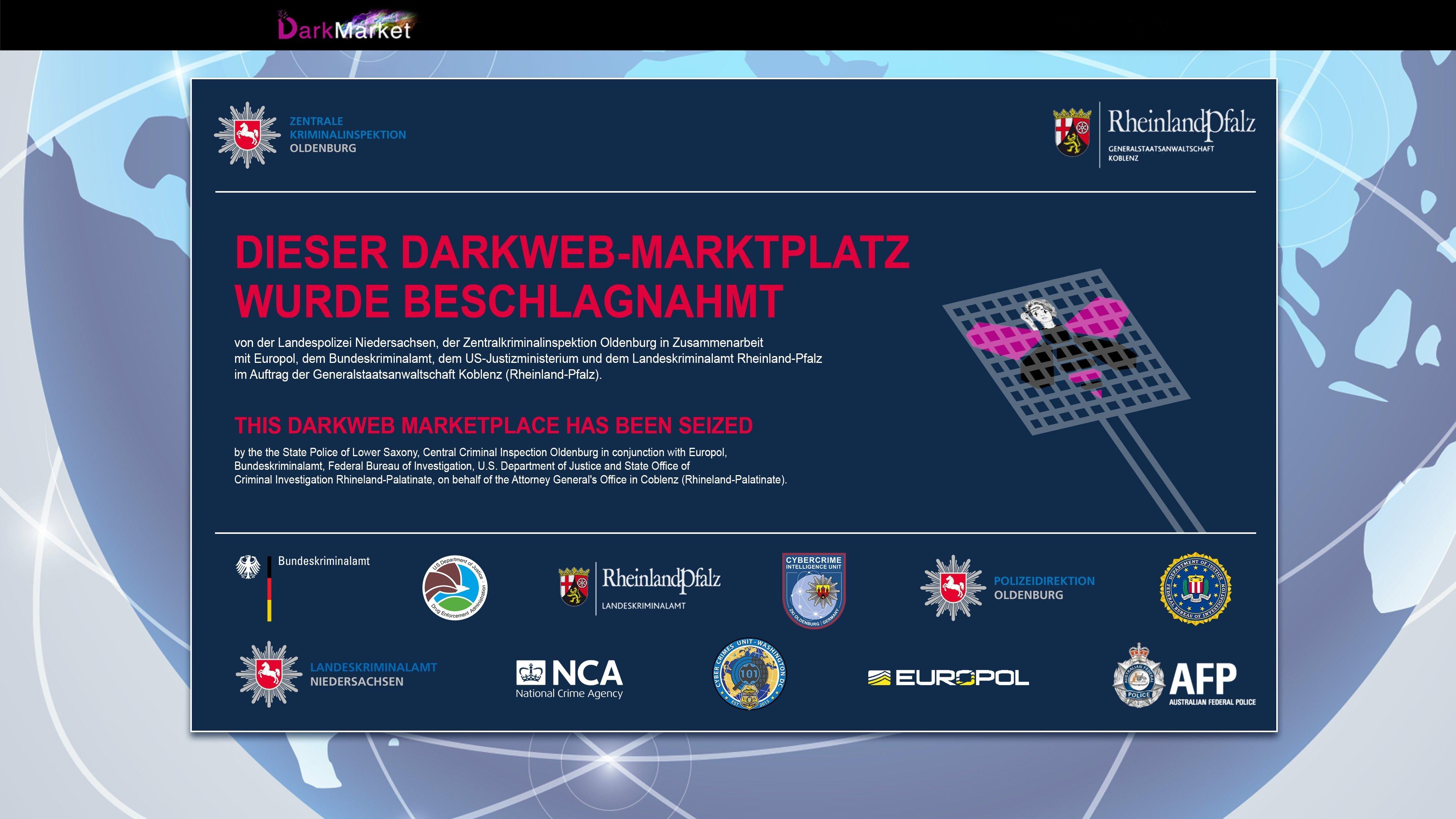 Mercado ilegal na dark web